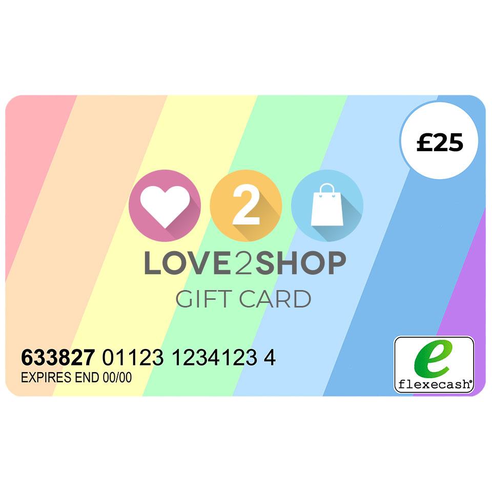 £25 love2shop gift card